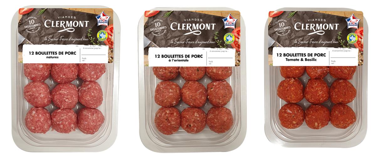 Nouveauté Viandes CLERMONT : les boulettes de porc