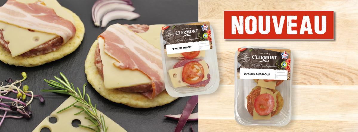 Une nouvelle gamme de palets fromagers CLERMONT